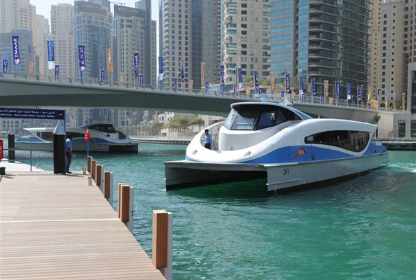 dubai water taxi and ferry