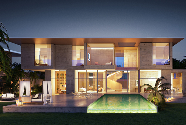 The Bulgari Hotel will feature 100 rooms and suites and 20 residential villas with road access and private pools.