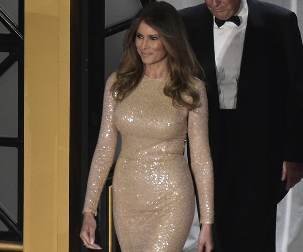 Reem Acra Dresses Melania Trump Over Inauguration Weekend