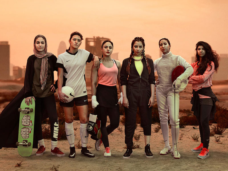 Bolsa pasar por alto Cincuenta  Nike Campaign Has a Powerful Message For Women In The Middle East