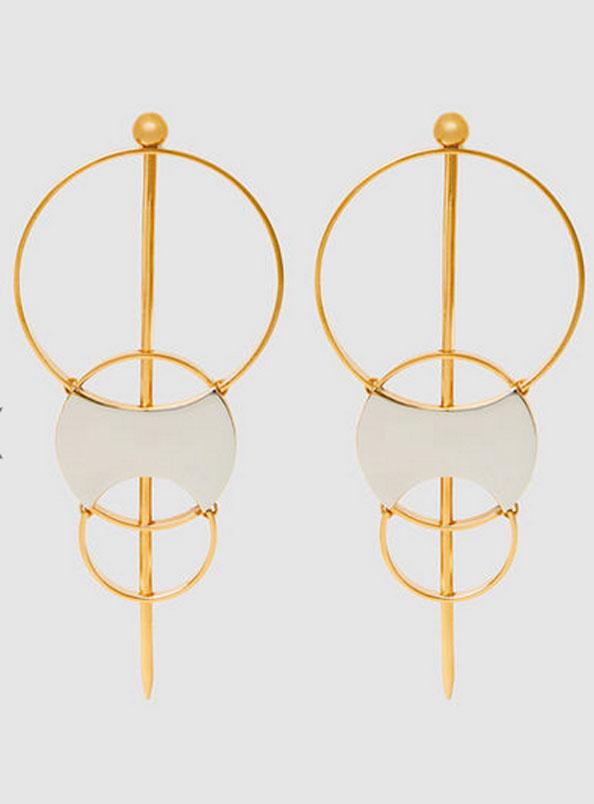 door knocker earrings