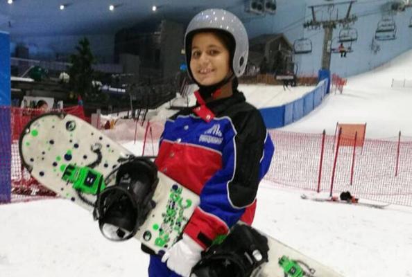 Sheikha Al Jalila Just Carved Up The Slopes Of Ski Dubai