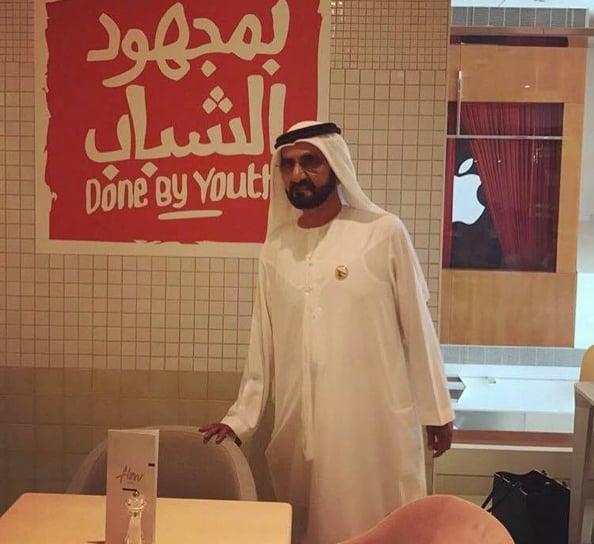 sheikh mohammed flow cafe