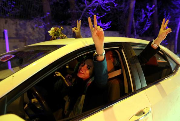 women iran hijab