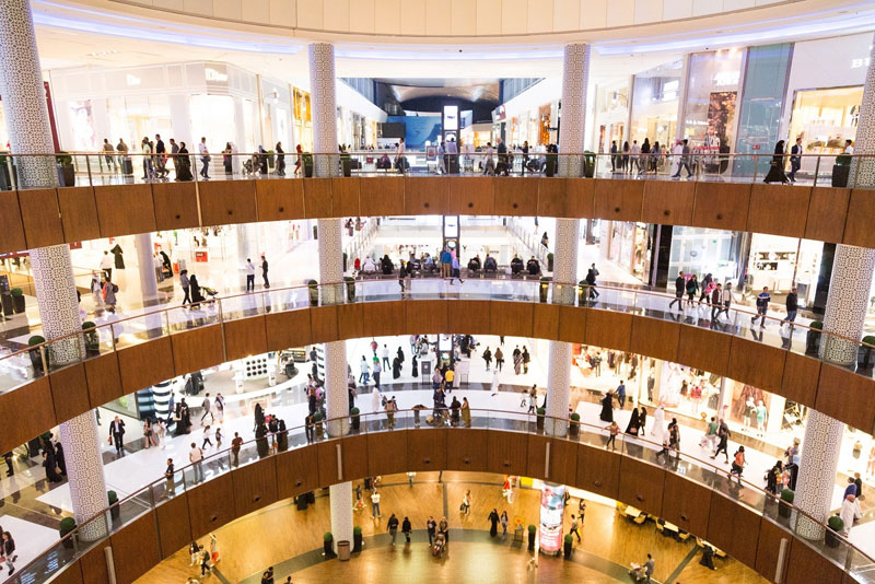 Shopping excitement at The Dubai Mal