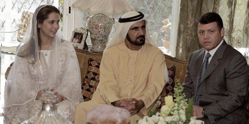 HH Sheikh Mohammed Bin Rashid Al Maktoum and HRH Princess Haya Bint Al Hussein