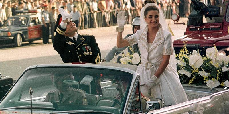 King Abdullah II of Jordan and Queen Rania Al-Abdullah