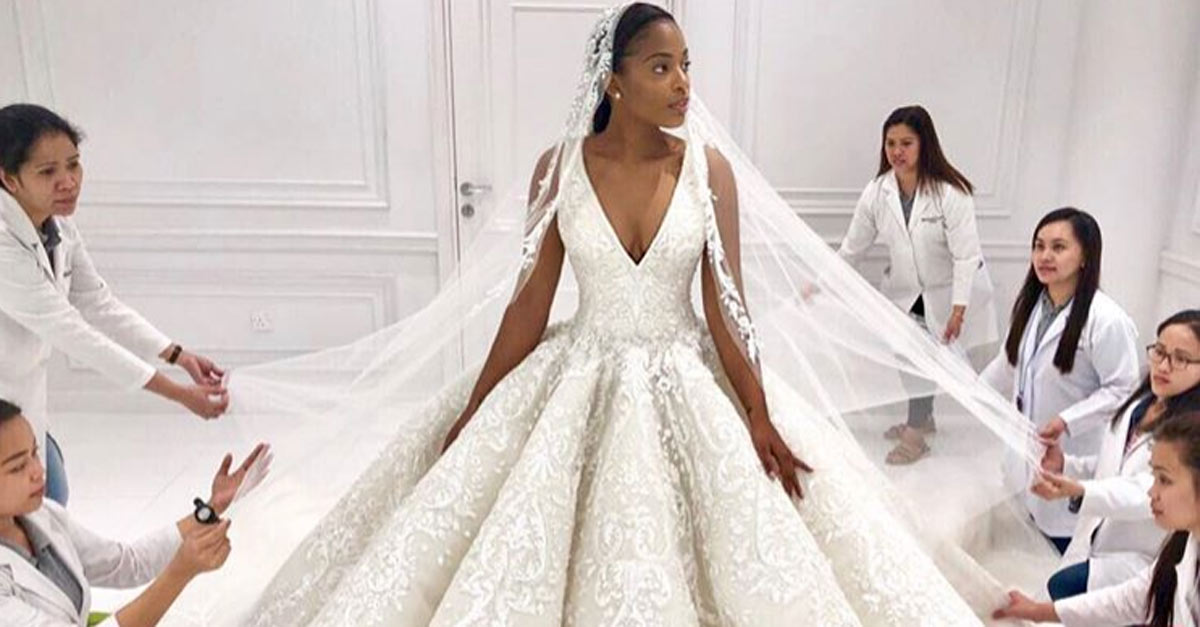 We Re In Love With This Michael Cinco Wedding Gown