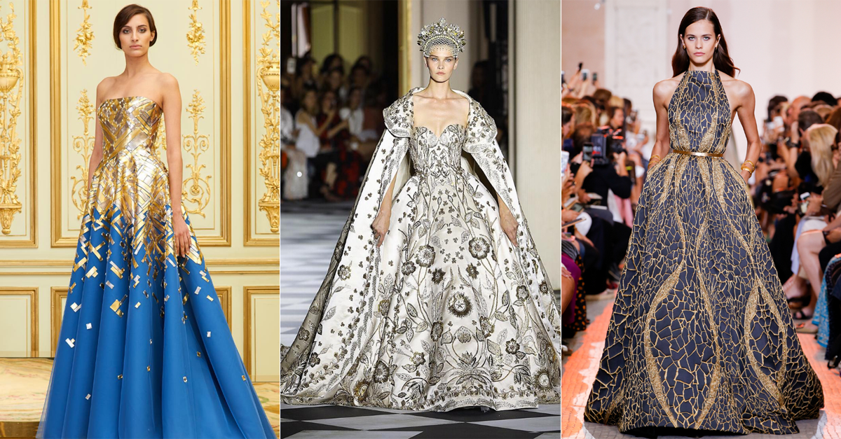 Our Favourite Looks From Middle Eastern Designers At Paris Fashion Week