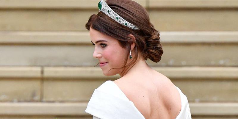 Zac Posen Shares Unseen Photo Of Princess Eugenie S Second Wedding Dress Emirates Woman