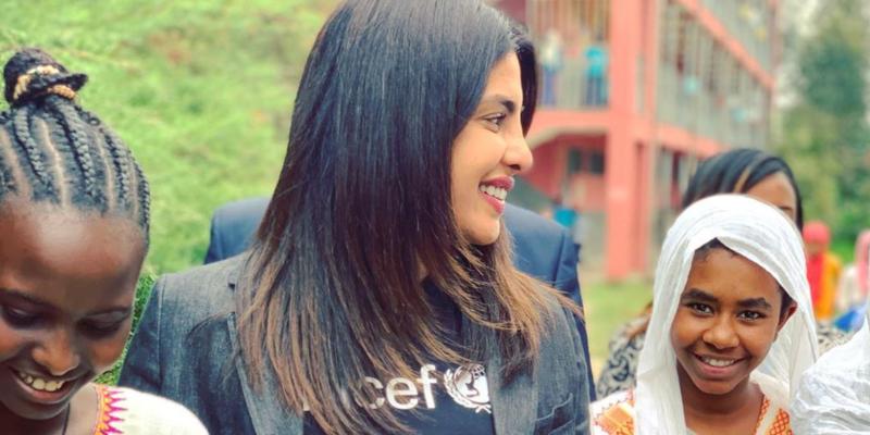 An inside look into Priyanka Chopra's trip to Ethiopia with UNICEF
