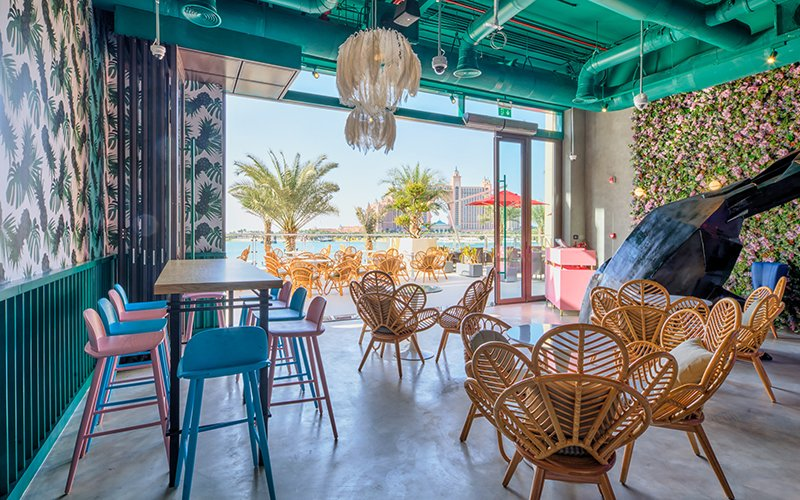 the pointe restaurant dubai weekend