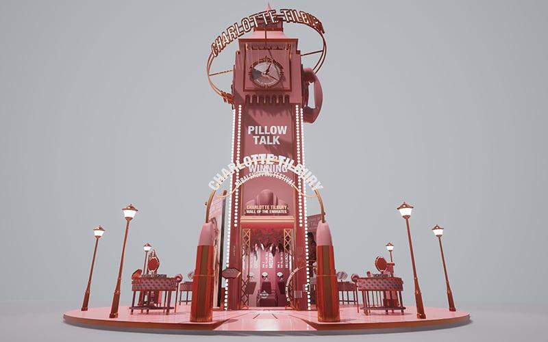 charlotte tilbury pop-up dubai mall of the emirates