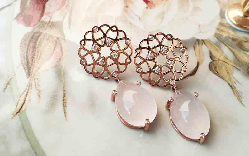 Dubai-based, Saudi jewellery Nosheen Bakhsh sheen