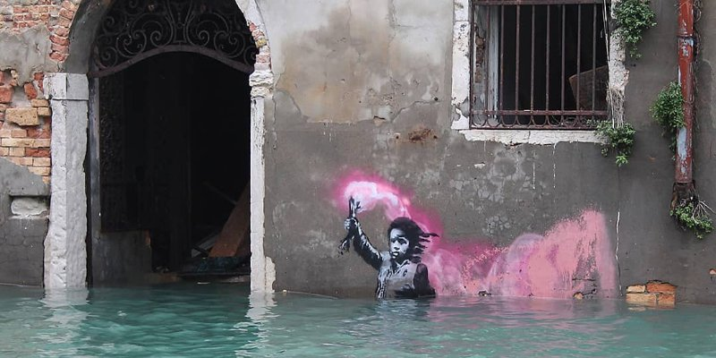 Listen up art lovers, this Banksy exhibition is headed to Saudi this weekend