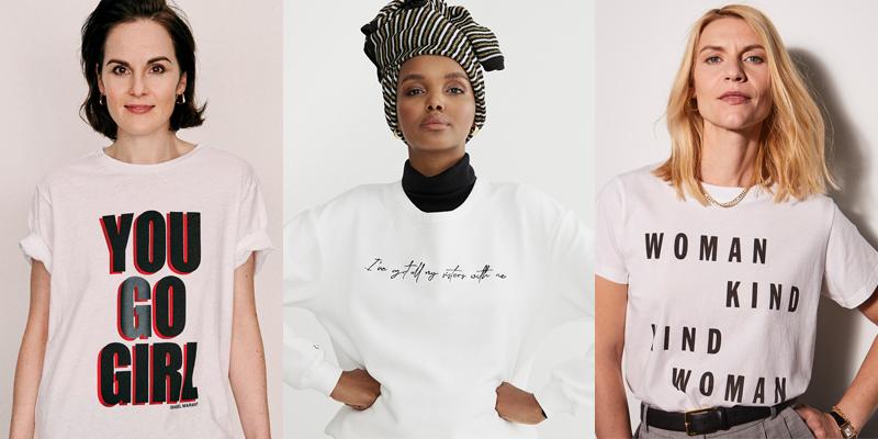 Halima Aden stars in NET-A-PORTER International Women's Day campaign