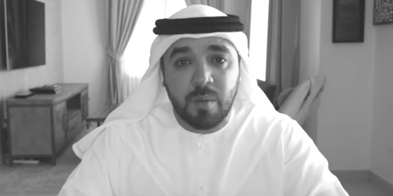 Khalid Al Ameri tears up in the video he's 'most proud of' talking about his son