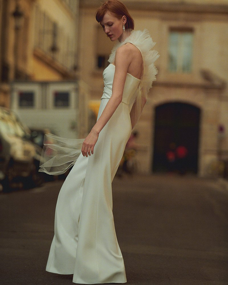 modern wedding dress max mara bridal 2020 emirates woman magazine dubai uae