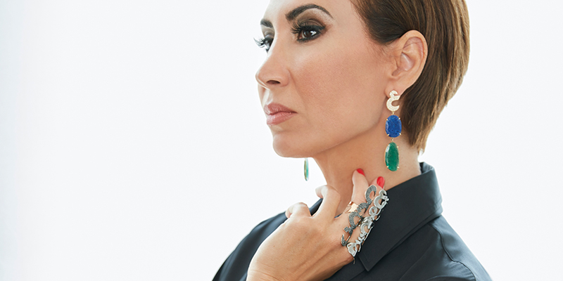 dubai jewellery designer nadine kanso watch