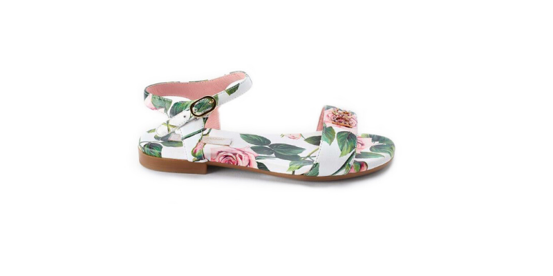 Dolce and gabbana floral sandal