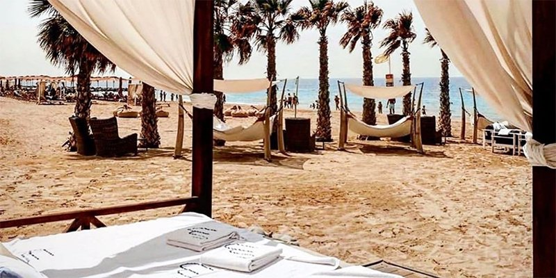 One of the top Dubai beach clubs has reopened its pool