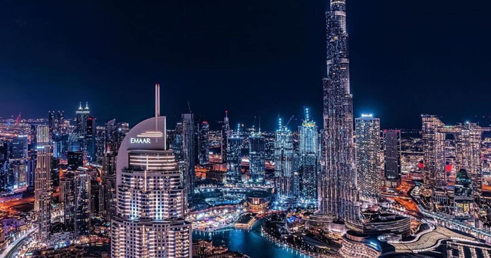 Burj Khalifa Dubai overnight curfews uae