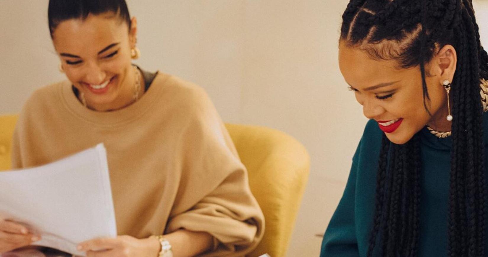 The ultimate shoe collaboration has just dropped: Fenty X Amina Muaddi