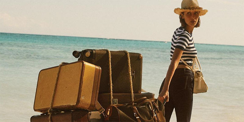 Watch Bella Hadid in a role of a stylish castaway
