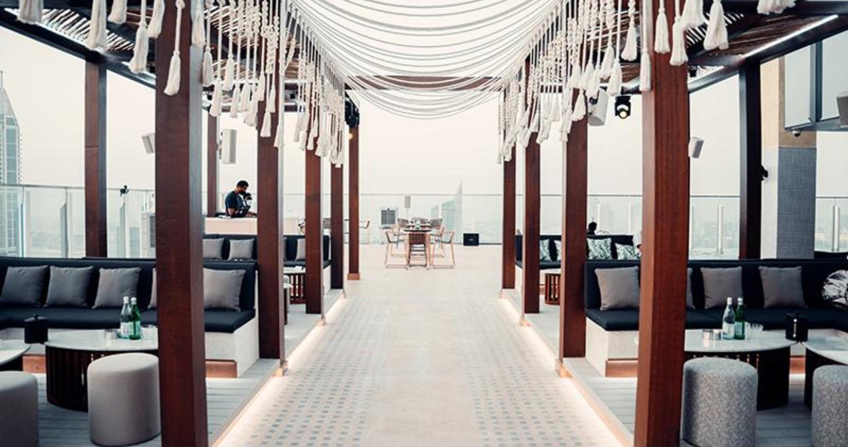 Paros bar Taj Dubai