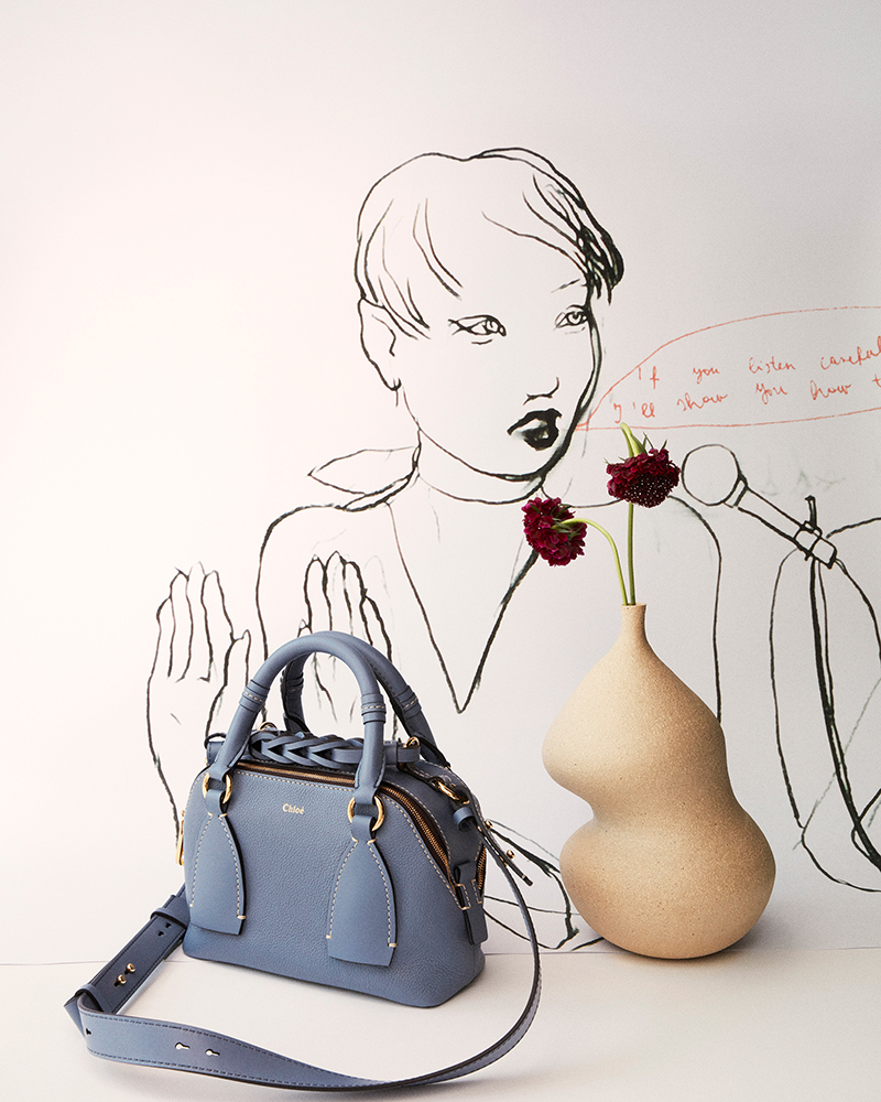 Chloé daria mini designer handbag