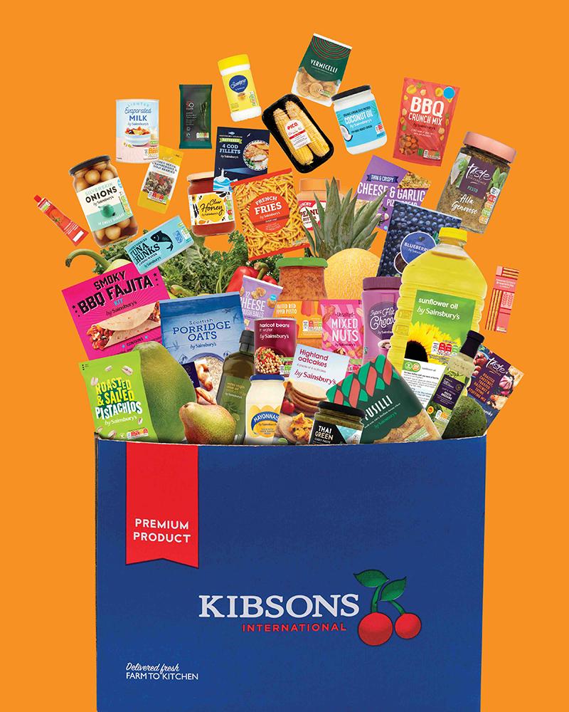 Kibsons Sainsbury's uae