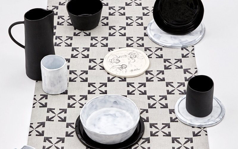 Off White interior design HOME 2.0 dubai uae