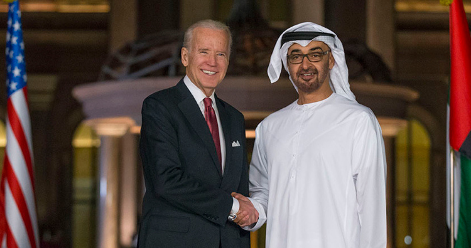 Joe biden Mohamed bin zayed