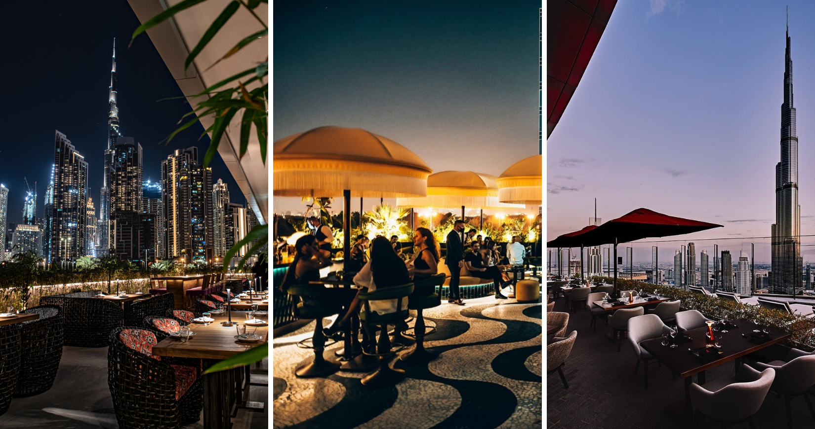 The ultimate round-up of the best rooftops in Dubai