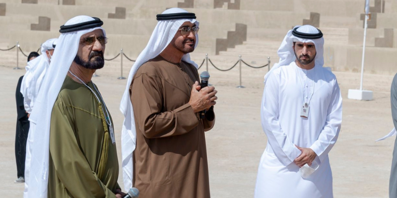 Sheikh Mohammed, Sheikh Mohamed bin Zayed congratulate Hope Probe team in person