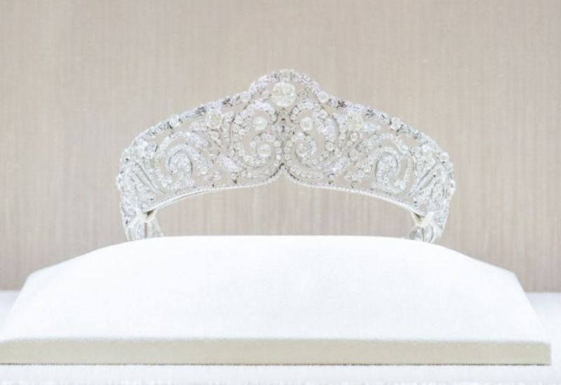 Scroll tiara, 1910 - Cartier