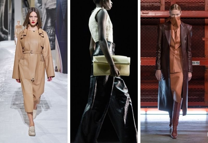 Runway Report - Luxe Leather