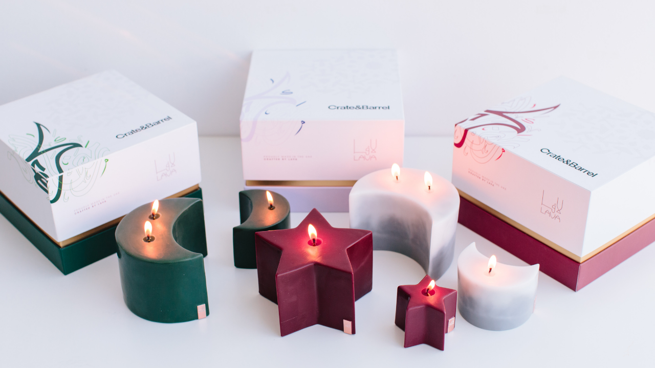Crate and Barrel Candles