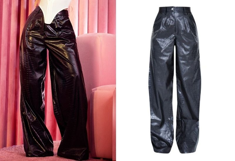 Leather trousers x PLT