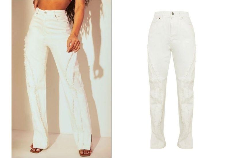 White Jeans x PLT