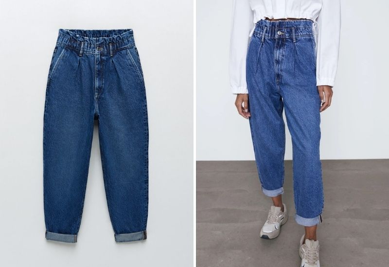 Zara Slouchy jeans