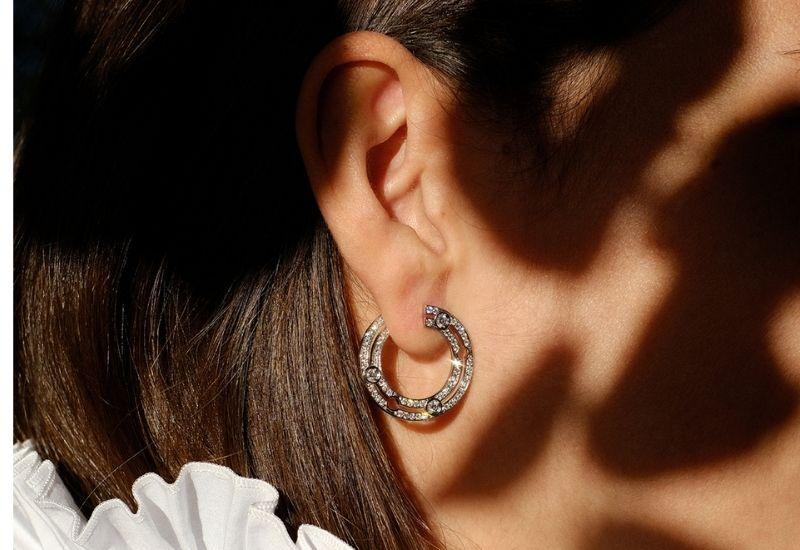 dinh van - earring