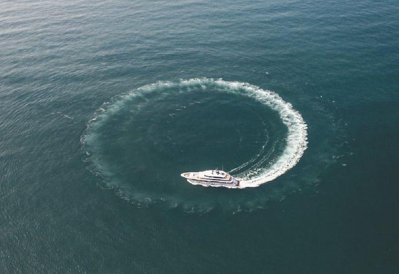 Majesty Yacht Sea Trial