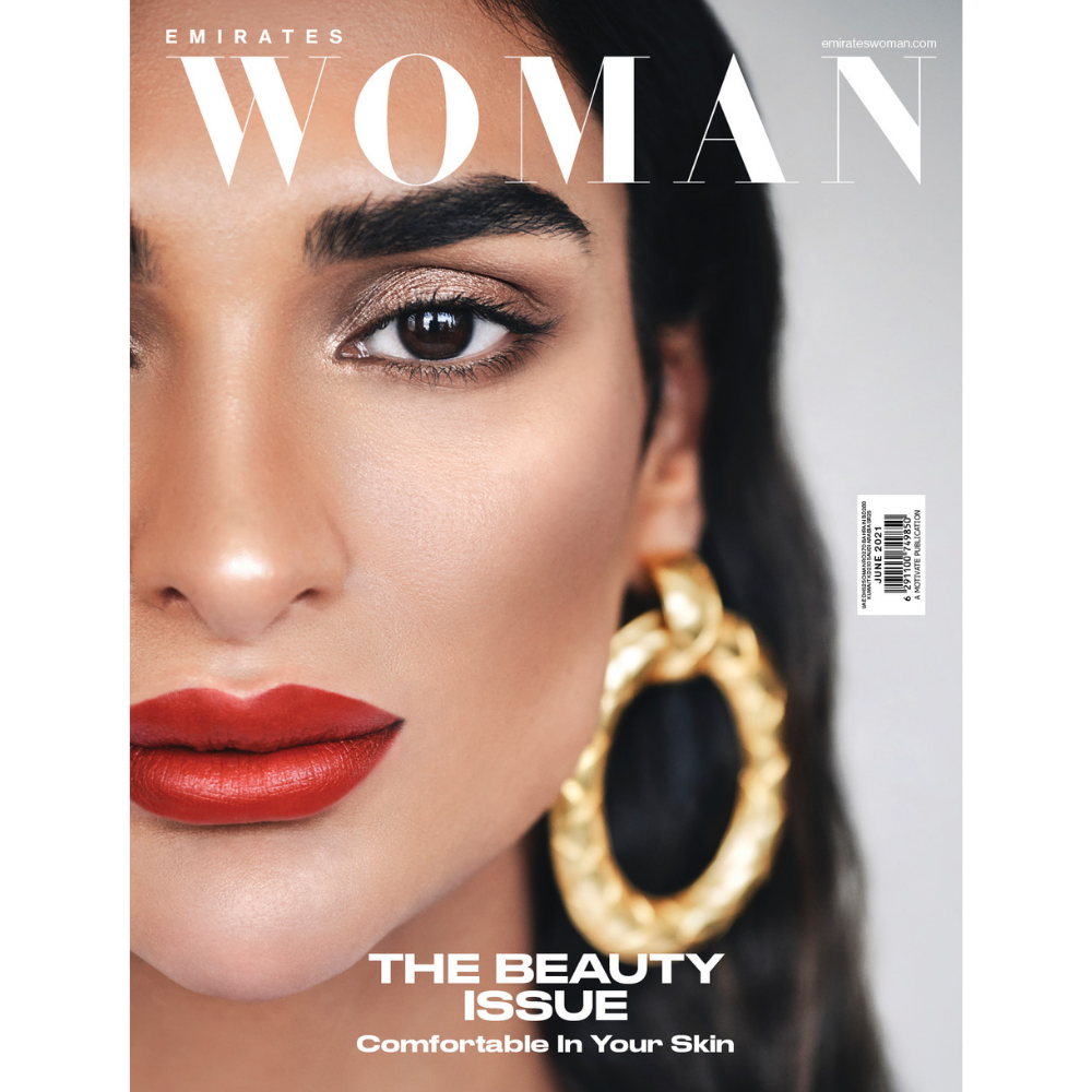 Emirates Woman June Beauty Issue Cover