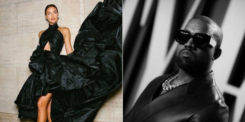 Kanye West and Irina