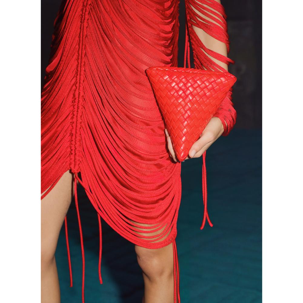 Bottega Red Bag