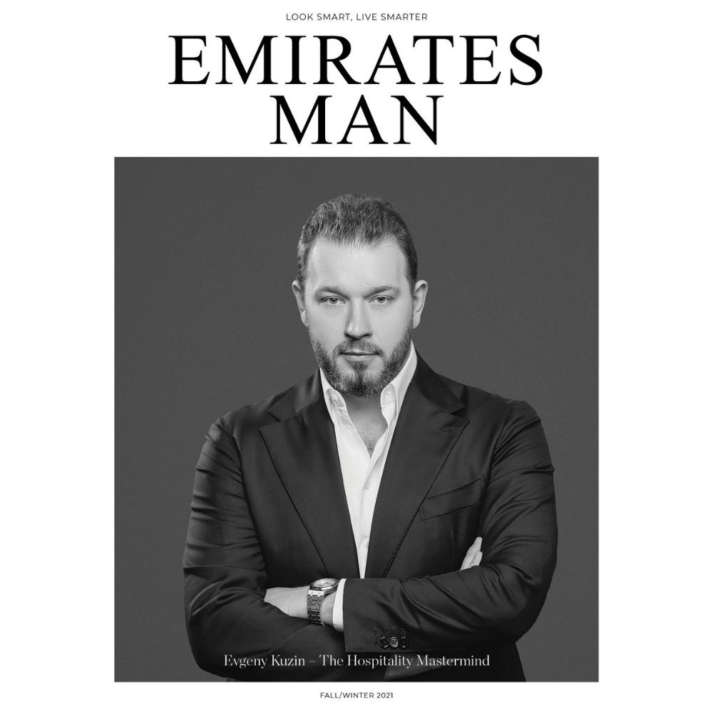 Emirates Man - Evgeny Kuzin
